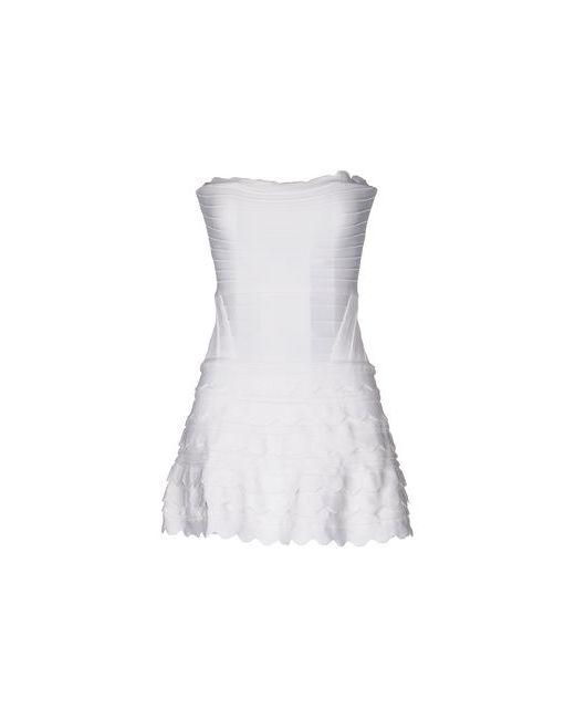 Autour De Moi | Женское Белое Короткое Платье