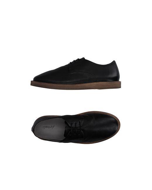 Marsell | Мужская Чёрная Обувь На Шнурках