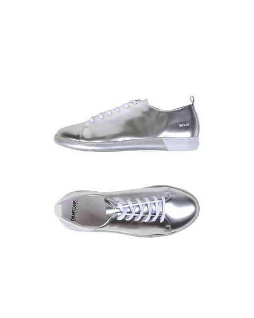 PANTONE UNIVERSE FOOTWEAR | Мужские Серебристые Низкие Кеды И Кроссовки