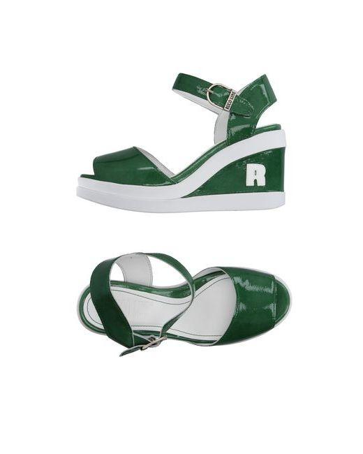 Ruco Line | Женские Зелёные Сандалии