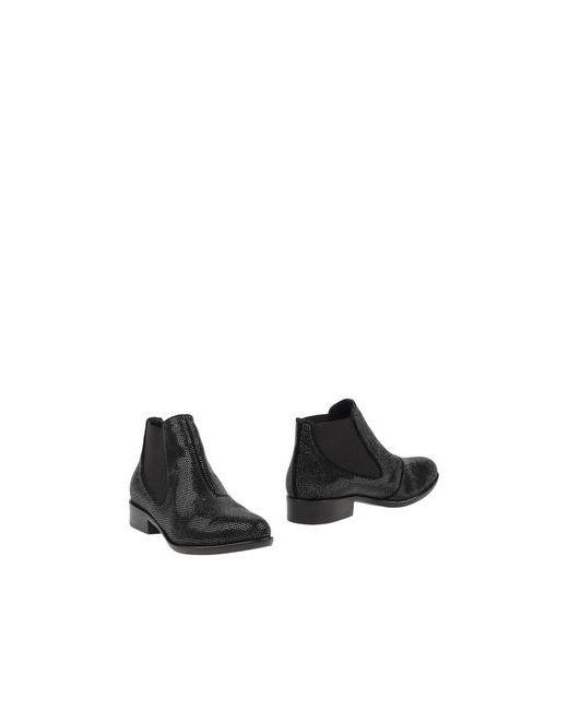 Janet & Janet | Мужские Чёрные Полусапоги И Высокие Ботинки