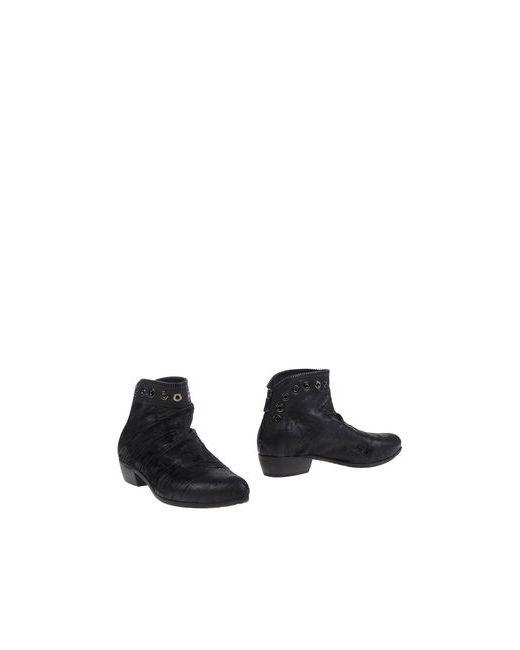 KALIKA | Мужские Чёрные Полусапоги И Высокие Ботинки