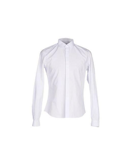 Valentino   Мужская Белая Pубашка