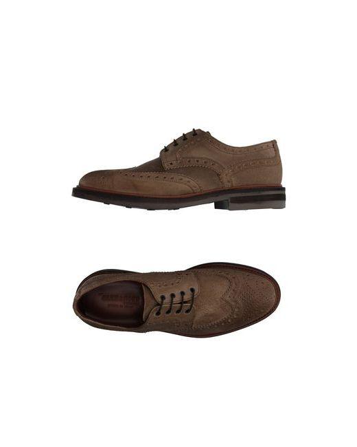 Alexander Trend | Мужская Хаки Обувь На Шнурках