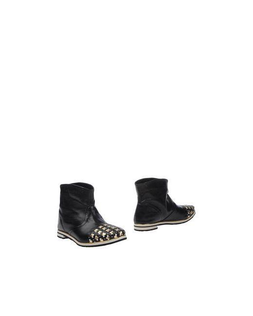 Fabi | Женские Чёрные Полусапоги И Высокие Ботинки