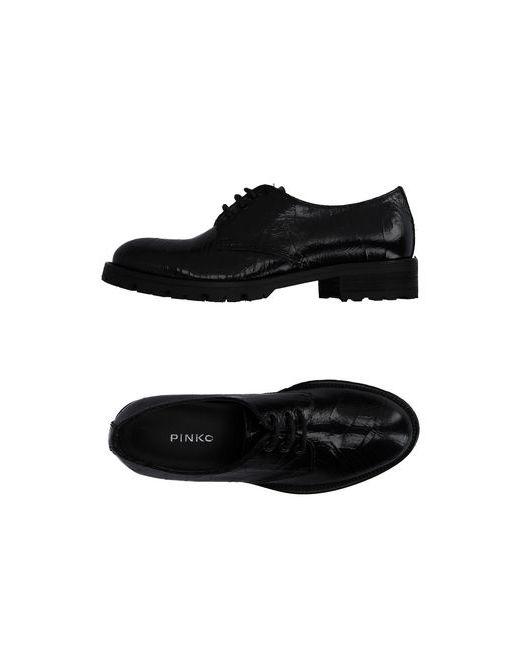 Pinko Black | Мужская Чёрная Обувь На Шнурках