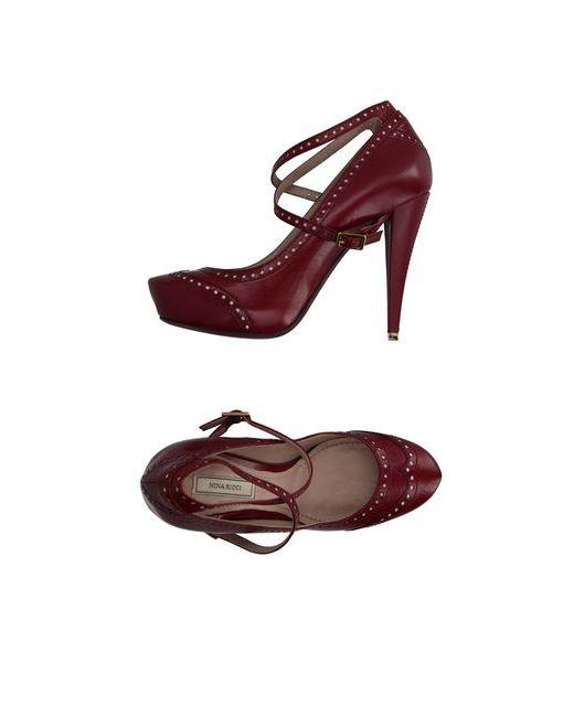Nina Ricci | Женские Коричневые Туфли