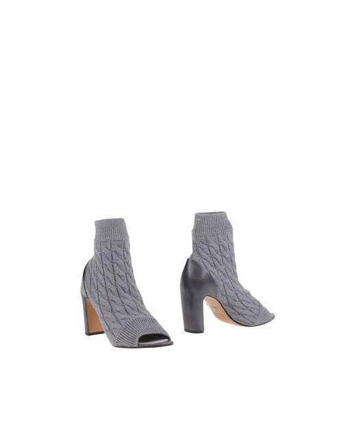 Maison Margiela | Женские Серые Полусапоги И Высокие Ботинки