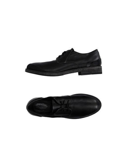 O.X.S. | Мужская Чёрная Обувь На Шнурках