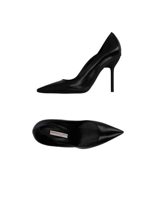 Roberto Festa | Женские Чёрные Туфли