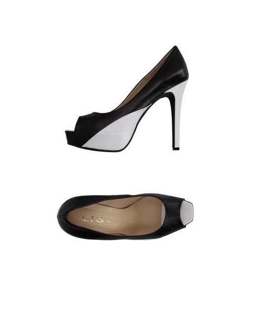 List | Женские Чёрные Туфли