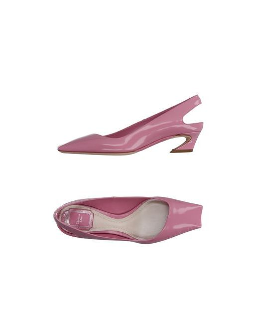Dior   Женские Розовые Туфли