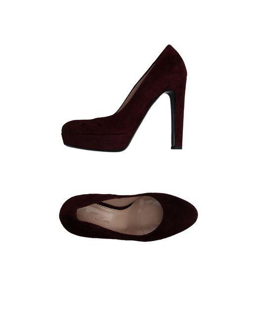 Maria Cristina   Женские Баклажанные Туфли