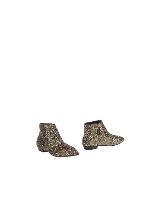 Giuseppe Zanotti Design | Женские Золотистые Полусапоги И Высокие Ботинки