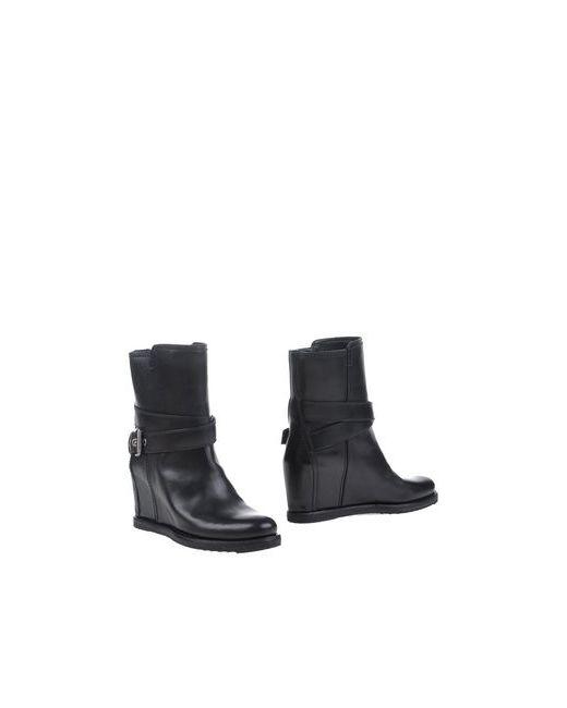 Carshoe   Женские Чёрные Полусапоги И Высокие Ботинки