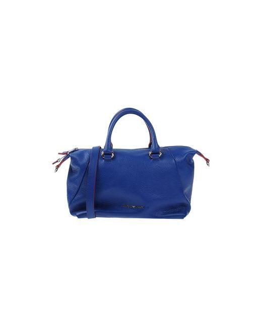 Emporio Armani | Женская Синяя Сумка На Руку