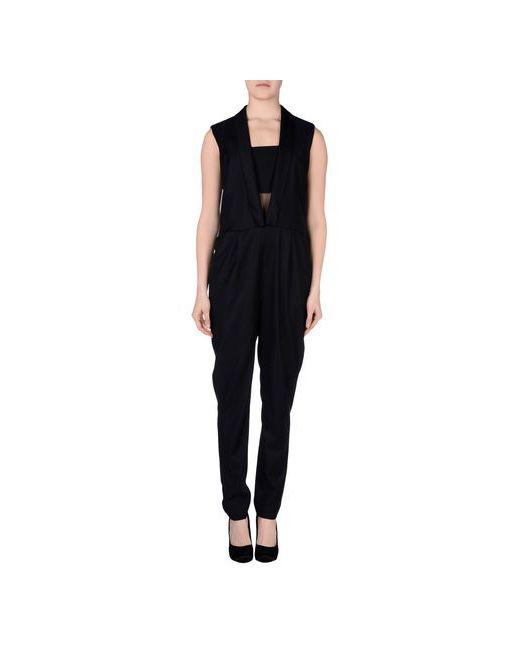 Karl Lagerfeld   Женские Чёрные Комбинезоны Без Бретелей