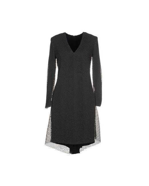 Cedric Charlier | Женское Чёрное Короткое Платье
