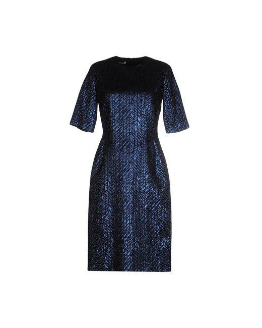Les Copains   Женское Синее Короткое Платье