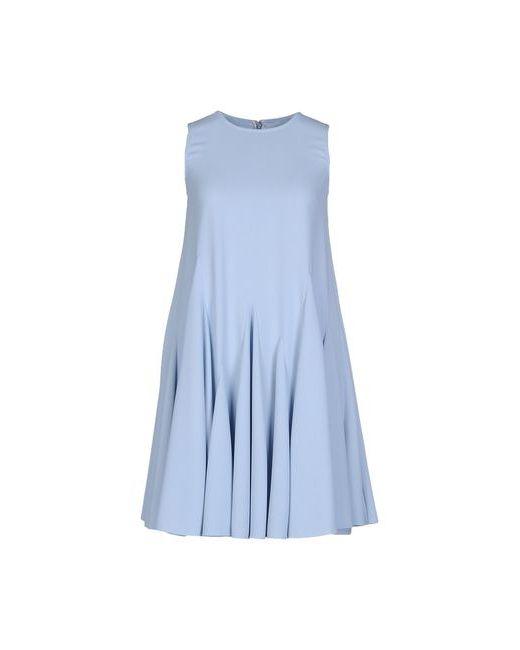Gianluca Capannolo | Женское Голубое Короткое Платье