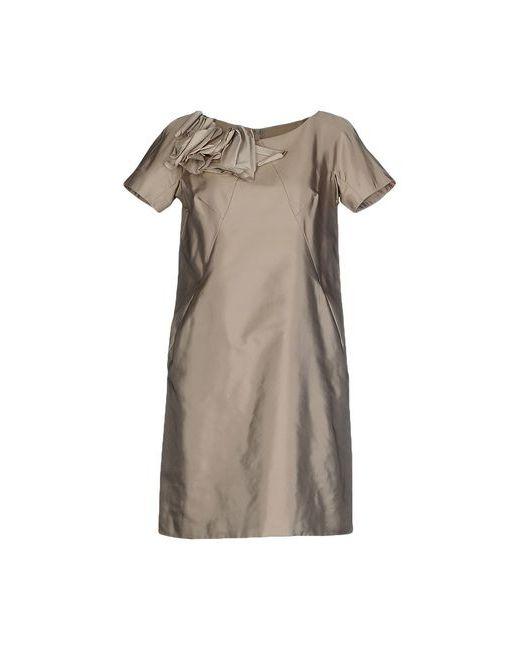 Moschino   Женское Серое Короткое Платье