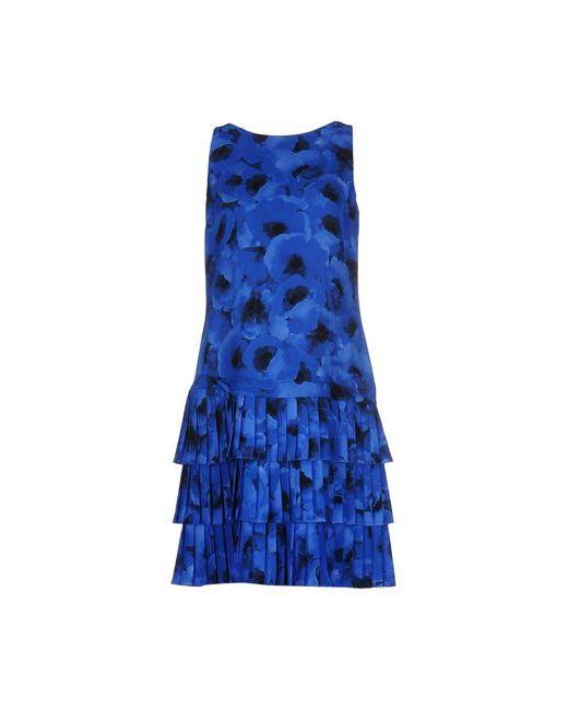 Michael Kors | Женское Синее Короткое Платье