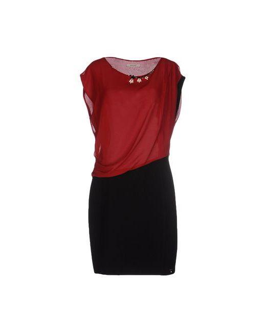 Koralline   Женское Красное Короткое Платье