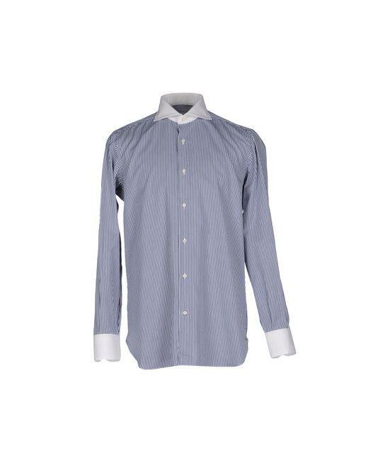 STEFANO G. | Мужская Синяя Pубашка