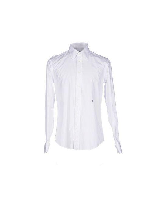 Ra-Re   Мужская Белая Pубашка