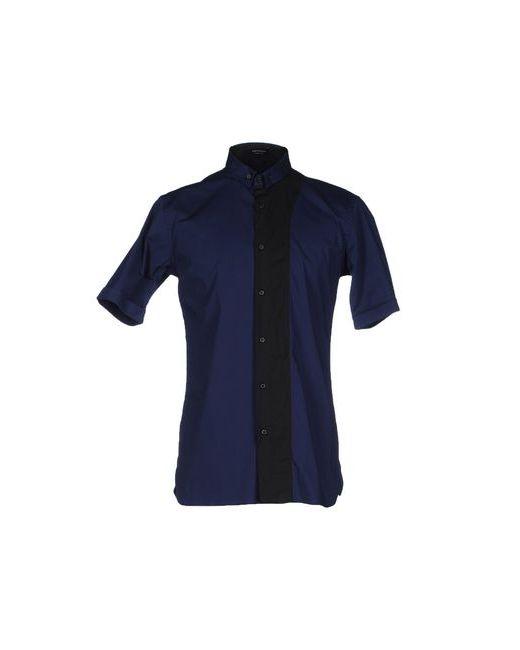Giuliano Fujiwara   Мужская Синяя Pубашка