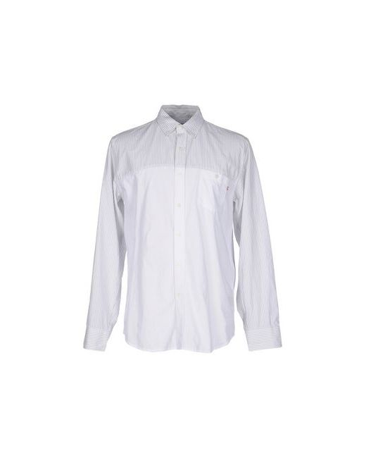Obey | Мужская Белая Pубашка