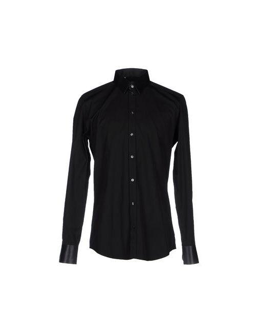 Dolce & Gabbana   Мужская Чёрная Pубашка