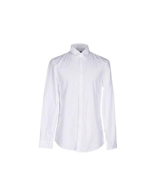 Tru Trussardi | Мужская Белая Pубашка