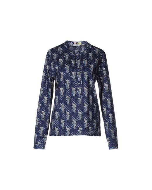 MSGM | Женская Синяя Блузка