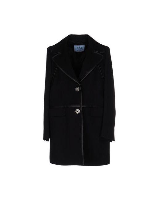 Prada | Женское Чёрное Пальто