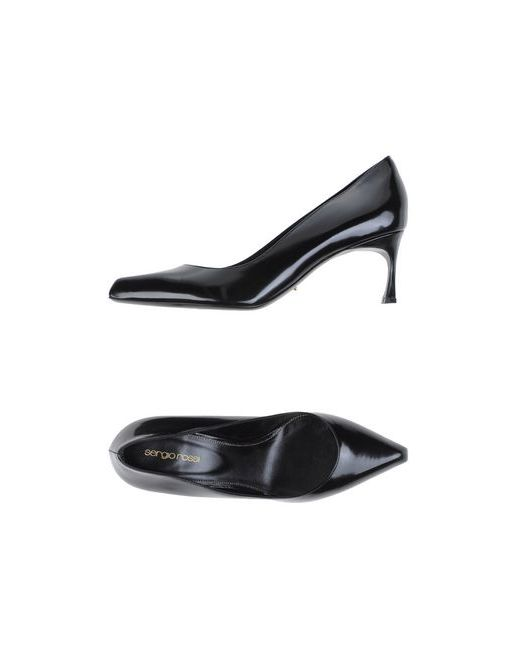 Sergio Rossi | Женские Чёрные Туфли