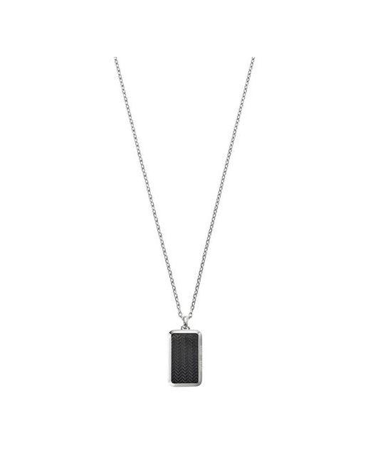 Emporio Armani | Женское Серебристое Ожерелье