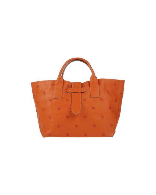 Donatella Lucchi | Женская Оранжевая Сумка На Руку
