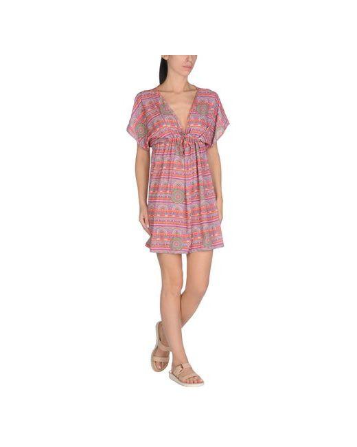 TIARÉ BEACHWEAR   Женское Оранжевое Пляжное Платье