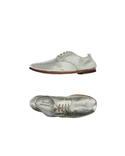 Rocco P. | Мужская Платиновая Обувь На Шнурках