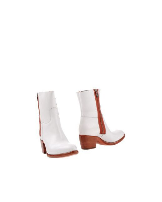 Rocco P. | Женские Белые Полусапоги И Высокие Ботинки