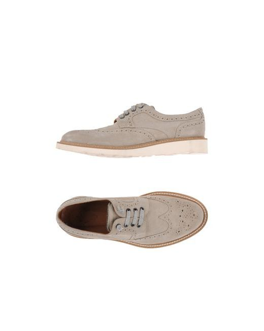 Eleventy | Мужская Серая Обувь На Шнурках