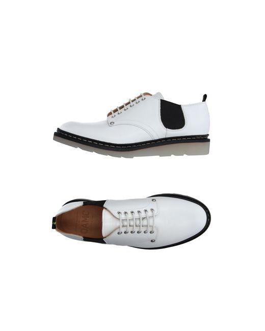 Ateliers Heschung   Мужская Белая Обувь На Шнурках
