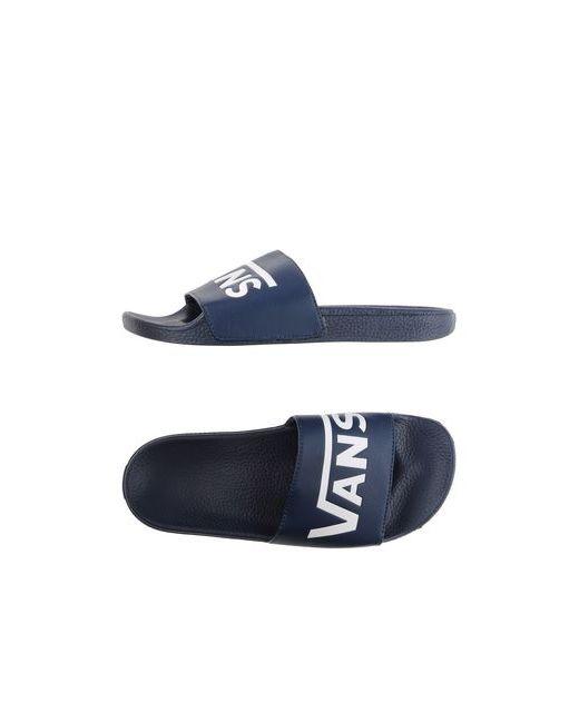 Vans | Женские Синие Сандалии