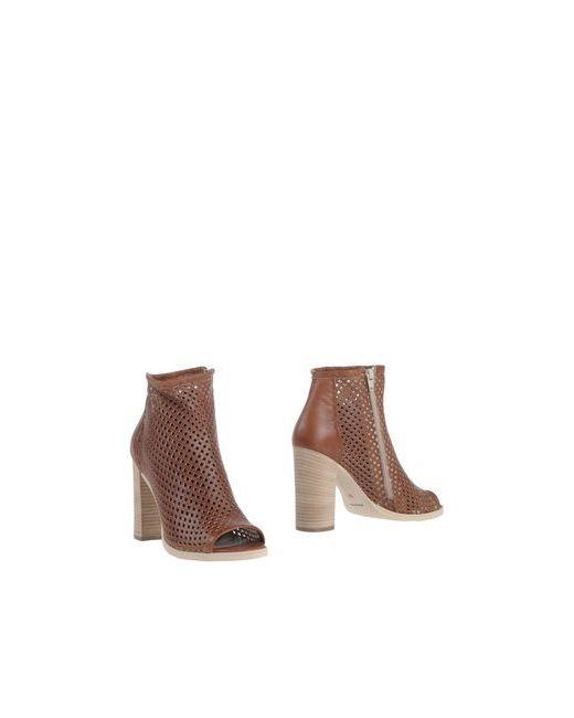 UNLACE | Женские Коричневые Полусапоги И Высокие Ботинки