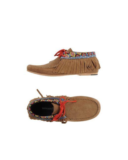 Tatoosh | Мужская Верблюжья Обувь На Шнурках