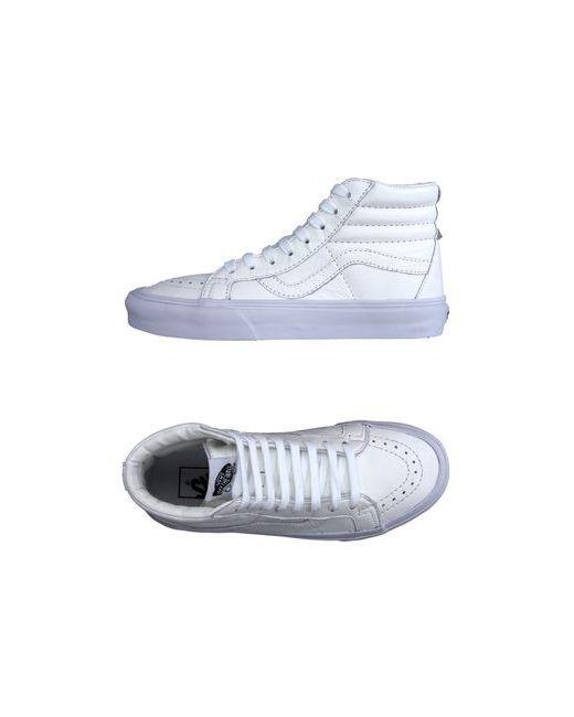 Vans | Женские Белые Высокие Кеды И Кроссовки