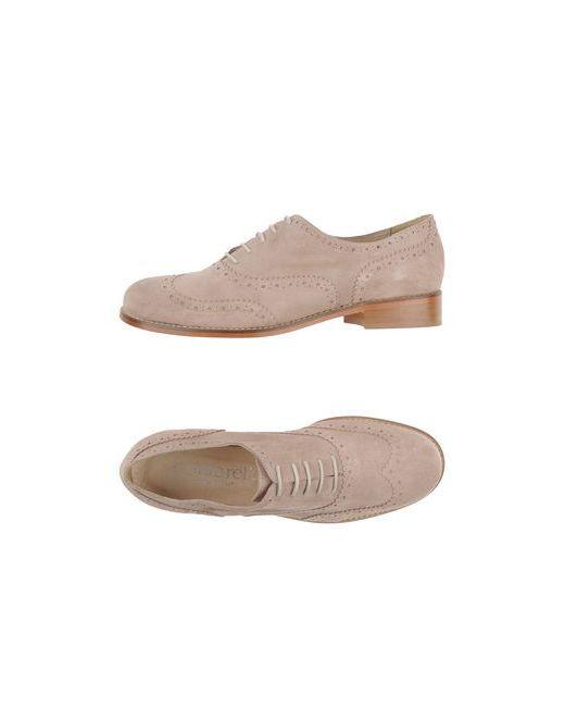 Cantarelli | Мужская Серая Обувь На Шнурках