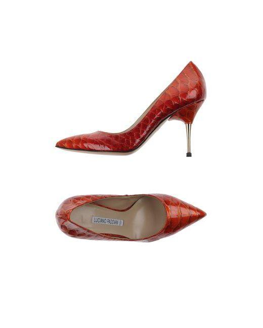 Luciano Padovan | Женские Красные Туфли