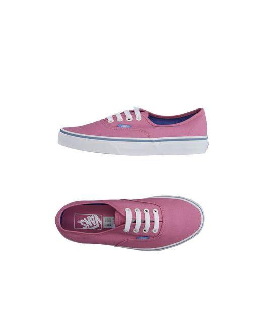 Vans | Женские Фиолетовые Низкие Кеды И Кроссовки